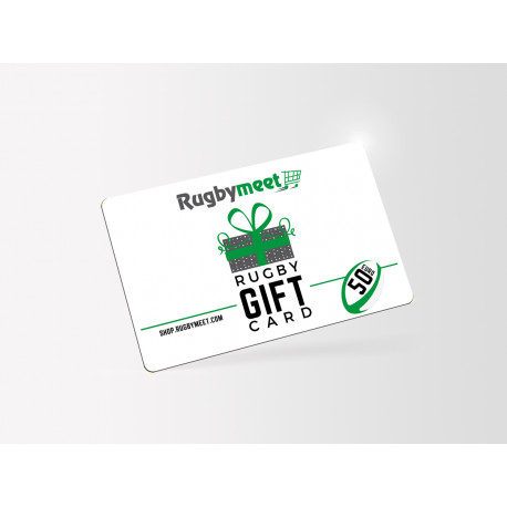 Rugby Gift Card 50 Euro